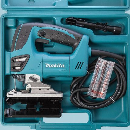 toptopdeal Makita 4350FCT Orbital Action Jigsaw 110V With Free 5 Jigsaw Blades 4