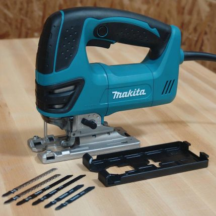 toptopdeal Makita 4350FCT Orbital Action Jigsaw 240V With Free 5 Jigsaw Blades 1