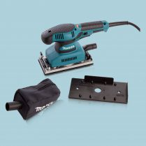 toptopdeal Makita BO3711 240V 1 3 Sheet Orbital Sander Speed Control With Dust Bag