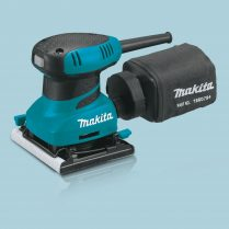 toptopdeal Makita BO4556 1-4″ Finishing Palm Grip Sander With Dust Bag 240V