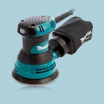 toptopdeal Makita BO5030 125mm 5 Random Orbital Sander With Dust Bag 240V