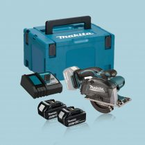 toptopdeal Makita DCS552RTJ 18V 136mm Metal Cut Saw With 2 X 5
