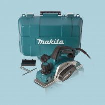 toptopdeal Makita KP0800K-2 240V 3″-82mm Heavy Duty Planer 620W In Carry Case
