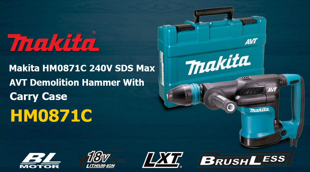 Makita HR5212C – How to change the Drill bit? Toptopdeal topdeal