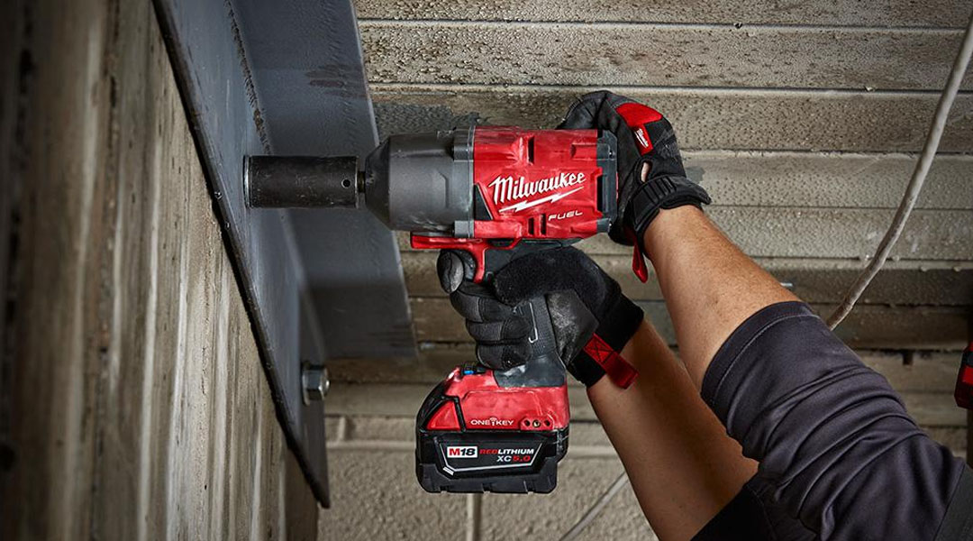 toptopdeal MILWAUKEE IMPACT WRENCH WITH FRICTION RING