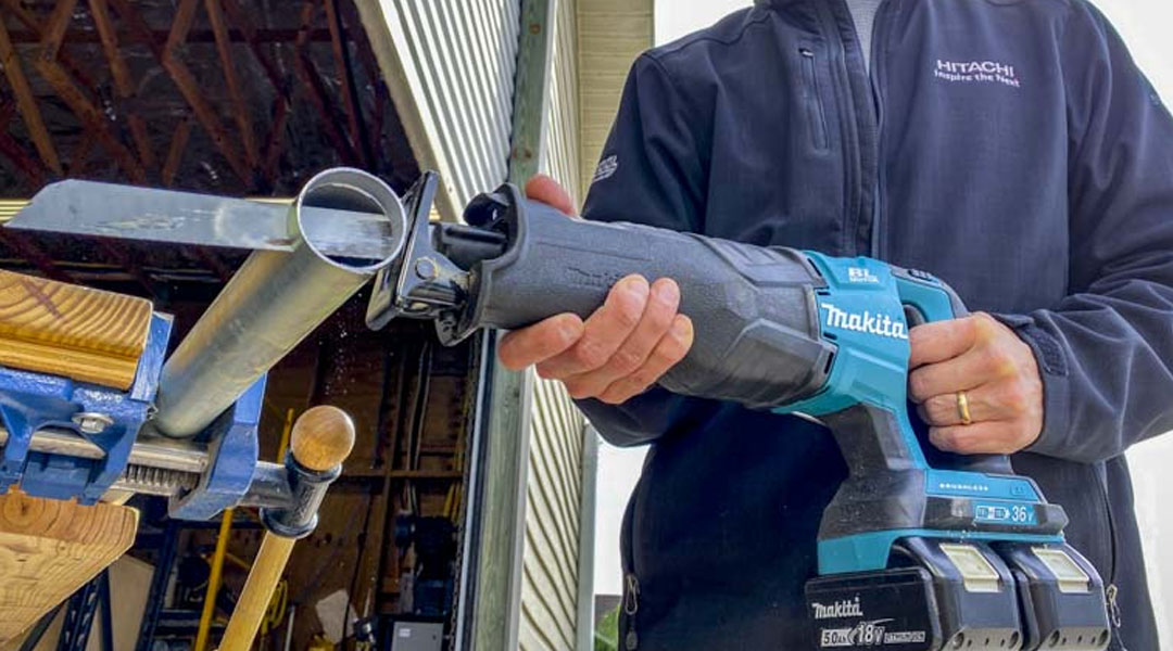 Makita DJR360ZK 36V -Uses, Benefits, and features.