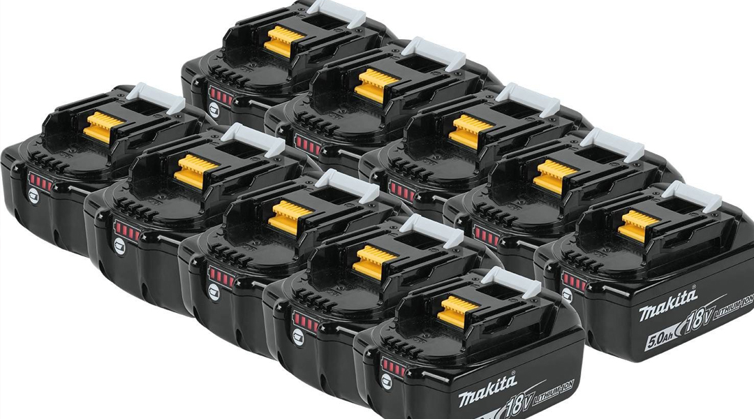 Makita Batteries with high Capacity- Now Available on Toptopdeal Toptopdeal topdeal