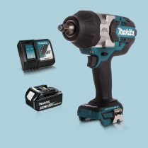 Makita DTW1002Z 18V 1/2″ BL Impact Wrench Drive & 1 x 3.Ah Battery Charger