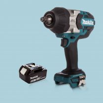 Makita DTW1002Z 18V 1/2″ Cordless BL Impact Wrench Drive & 1 x 5.Ah Battery