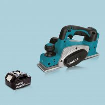 Makita DKP180Z 18V LXT Li-Ion Cordless 82mm Planer & 1 x 5.0Ah Battery