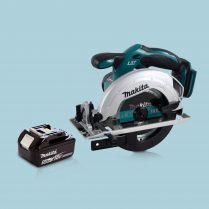 Makita DSS611Z 18V Li-Ion 165mm Cordless Circular Saw & 1 x 5.0Ah Battery