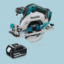 Toptopdeal MAKITA DHS680Z 18V LXT BL 165mm Circular Saw & 1 x 5.0Ah Battery