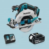 Toptopdeal MAKITA DHS680Z 18V LXT BL 165mm Circular Saw & 1 x 5.0Ah Battery Charger