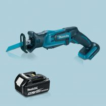 Toptopdeal-MAKITA-DJR185Z-18V-LXT-Cordless-Mini-Reciprocating-Saw-&-1-x-5-0Ah-Battery