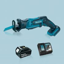 Toptopdeal-MAKITA-DJR185Z-18V-LXT-Mini-Reciprocating-Saw-&-1-x-3-0Ah-Battery-Charger