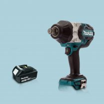 Toptopdeal MAKITA DTW1001Z 18V LXT Brushless 3-4″ Impact Wrench & 1 x 3.0Ah Battery