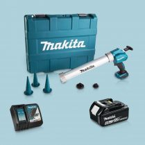 Toptopdeal-Makita DCG180ZBK 18V Caulking Gun & 1 x 5 Ah Battery Charger in Carry Case