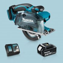 Toptopdeal Makita DCS552Z 18V 136mm Cordless Metal Cut Saw & 1 x 3 Ah Battery Charger