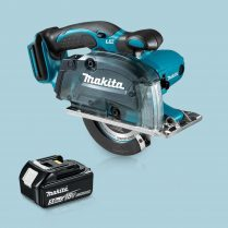 Toptopdeal Makita DCS552Z 18V LXT Li 136mm Cordless Metal Cut Saw & 1 x 5 Ah Battery