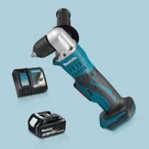 Toptopdeal-Makita-DDA351Z-18V-LXT-10mm-Angle-Drill-Driver-&-1-x-5-0Ah-Battery-Charger