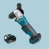 Toptopdeal-Makita-DDA351Z-18V-LXT-10mm-Angle-Drill-Keyless-Chuck-&-1-x-3-0Ah-Battery