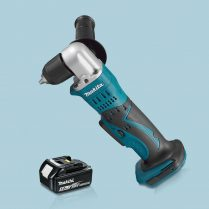 Toptopdeal-Makita-DDA351Z-18V-LXT-10mm-Angle-Drill-Keyless-Chuck-&-1-x-5-0Ah-Battery