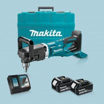Toptopdeal Makita DDA460ZK 36V LXT BL Angle Drill & 2 x 3 Ah Battery Charger In Case