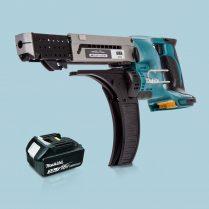 Toptopdeal-Makita-DFR750Z-LXT-18V-75mm-Auto-Feed-Screwdriver-&-1-x-3-0Ah-Battery
