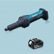 Toptopdeal-Makita DGD800Z 18V LXT Li-Ion Cordless 43mm Die Grinder & 1 x 3 Ah Battery