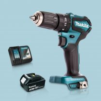 Toptopdeal Makita DHP483Z 18V BL Combi Hammer Drill Driver 1 x 3 Ah Battery Charger