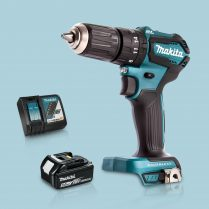 Toptopdeal Makita DHP483Z 18V BL Combi Hammer Drill Driver & 1 x 5 Ah Battery Charger