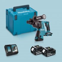 Toptopdeal-Makita DHR263ZJ 36V SDS+ Hammer Drill & 2 x 5 Ah Battery Charger In Case