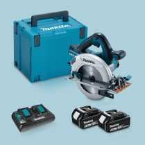 Toptopdeal Makita DHS710ZJ 36V Circular Saw & 2 x 5 Ah Battery Twin Charger In Case