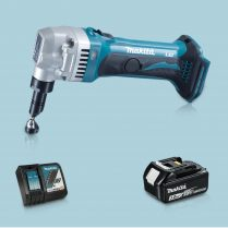 Toptopdeal-Makita DJN161Z 18V LXT Li Cordless 1 6mm Nibbler & 1 x 3 Ah Battery Charger