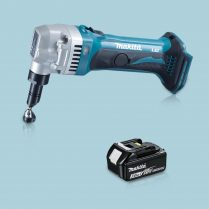 Toptopdeal-Makita DJN161Z 18V LXT Li-Ion Cordless 1 6mm Nibbler & 1 x 3 Ah Battery