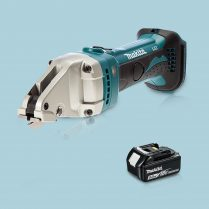 Toptopdeal-Makita DJS161Z 18V LXT Li-Ion Cordless Straight Shear & 1 x 5 Ah Battery