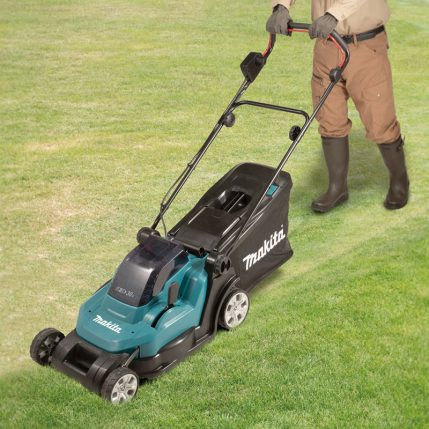 Toptopdeal Makita DLM432 18V X2 LXT® Cordless 430mm (17) 2 in 1 Lawn Mower