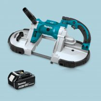 Toptopdeal-Makita DPB180Z 18V LXT Cordless Portable Band Saw & 1 x 5 Ah Battery