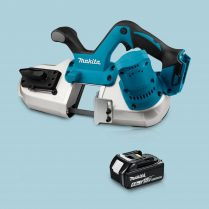 Toptopdeal-Makita DPB182Z 18V LXT Li-Ion Cordless Band Saw & 1 x 5 Ah Battery