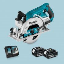 Toptopdeal Makita DRS780Z 36V LXT BL 185mm Circular Saw 2 x 5 Ah Battery Charger 1