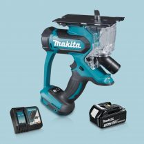 Toptopdeal-Makita DSD180Z 18V LXT Cordless Drywall Cutter & 1 x 3 Ah Battery Charger