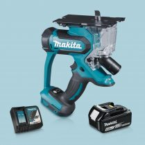 Toptopdeal-Makita DSD180Z 18V LXT Cordless Drywall Cutter & 1 x 5 Ah Battery Charger