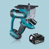 Toptopdeal-Makita DSD180Z 18V LXT Li-Ion Cordless Drywall Cutter & 1 x 3 Ah Battery