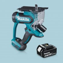Toptopdeal-Makita DSD180Z 18V LXT Li-Ion Cordless Drywall Cutter & 1 x 5 Ah Battery
