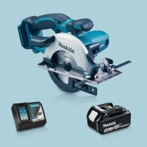 Toptopdeal Makita DSS501Z 18V LXT Li Ion 136mm Circular Saw & 1 x 5 Ah Battery Charger