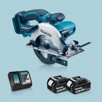 Toptopdeal Makita DSS501Z 18V LXT Li Ion 136mm Circular Saw & 2 x 5 Ah Battery Charger