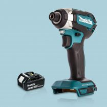 Toptopdeal Makita DTD153Z 18V LXT Cordless Brushless Impact Driver & 1 x 5 Ah Battery