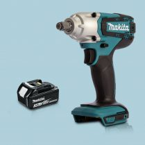 Toptopdeal Makita DTW190Z 18V LXT Li-Ion 1-2″ Square Impact Wrench & 1 x 3.0Ah Battery