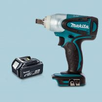Toptopdeal Makita DTW251Z 18V LXT 1 2″ Cordless Impact Wrench Drive 1 x 5 Ah Battery