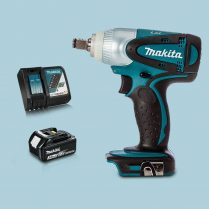 Toptopdeal Makita DTW251Z 18V LXT 1 2 Impact Wrench Drive 1 x 3.0Ah Battery Charger